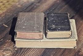 古ぼけた本